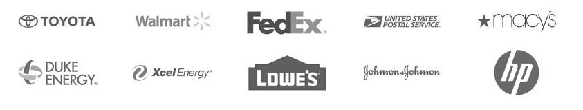 business logos of brands who choose SunPower